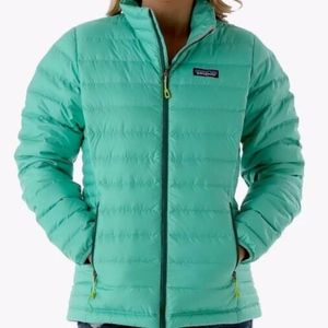 Patagonia Down Sweater (jacket) in Aqua Stone, L